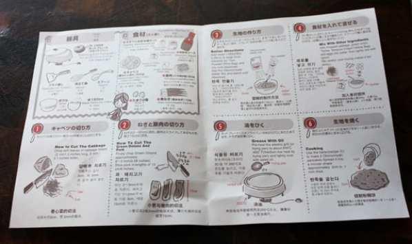 Okonomiyaki Mix Instructions
