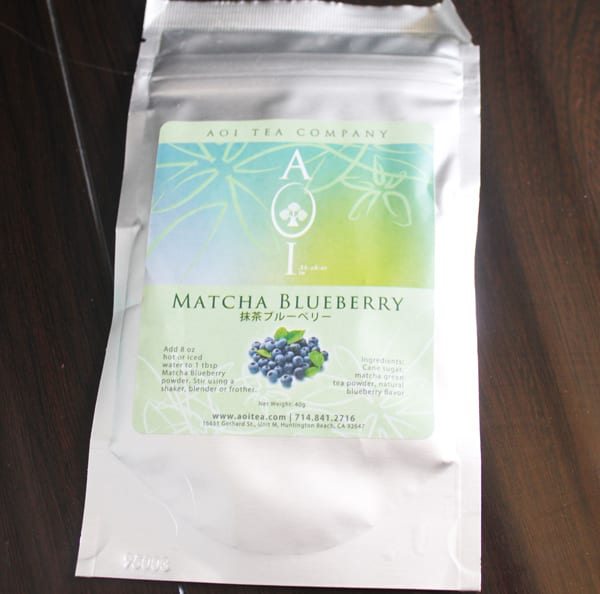 Try The World Japan - Blueberry Matcha