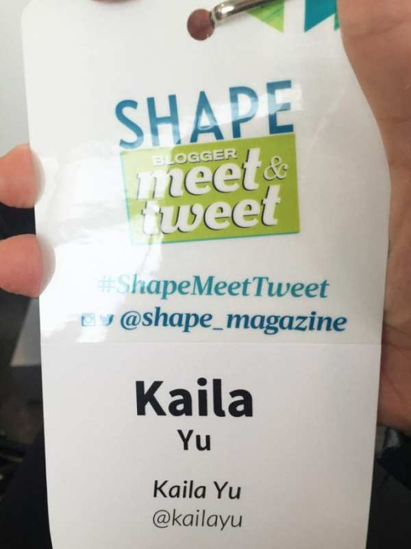 Shape Magazine Pass