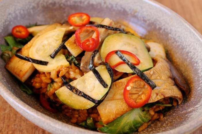 Kimchee Barley & Fried Rice 1
