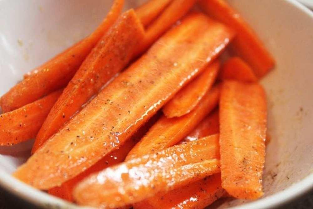 Carrots Seasoned