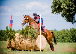 Darlene McInnes and Warlord Eventing Champions