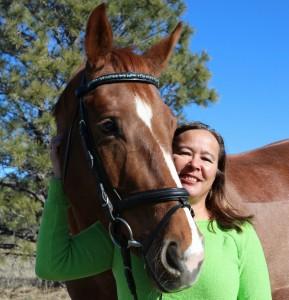 Gwen Kaawaloa at Kaimana Equestrian