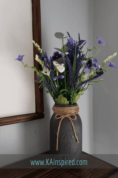 Simple DIY project with Mason Jars