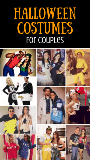 Halloween Costumes for Couples - KAinspired #halloween #halloweencostume #halloweencouplecostume #couplecostume #diycostume #diyhalloween #diyhalloweencostume #KAinspired www.kainspired.com