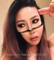 DIY Halloween Makeup Looks #halloween #halloweencostume #diy #diyhalloweencostume #diycostume #makeupideas #halloweencostumes #facepaint #makeup #distortedface #distortedmakeup #trippy #trippycostume #kainspired
