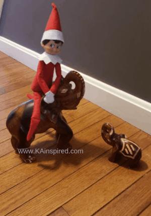 Elf on the shelf easy and creative ideas #elf #elfontheshelf #creative #elf #elfideas #christmas #christmasspirit #christmastraditions #traditions #christmasideas #elfideas #elf #easyelfontheshelf easy elf on the shelf ideas #KAinspired