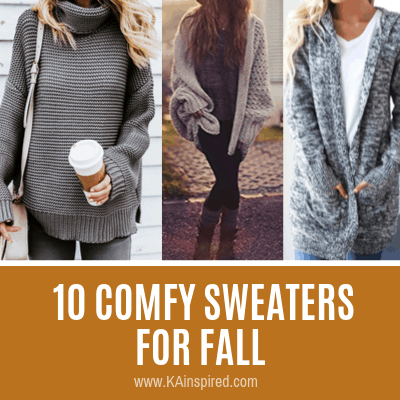 10 COMFY SWEATERS FOR FALL