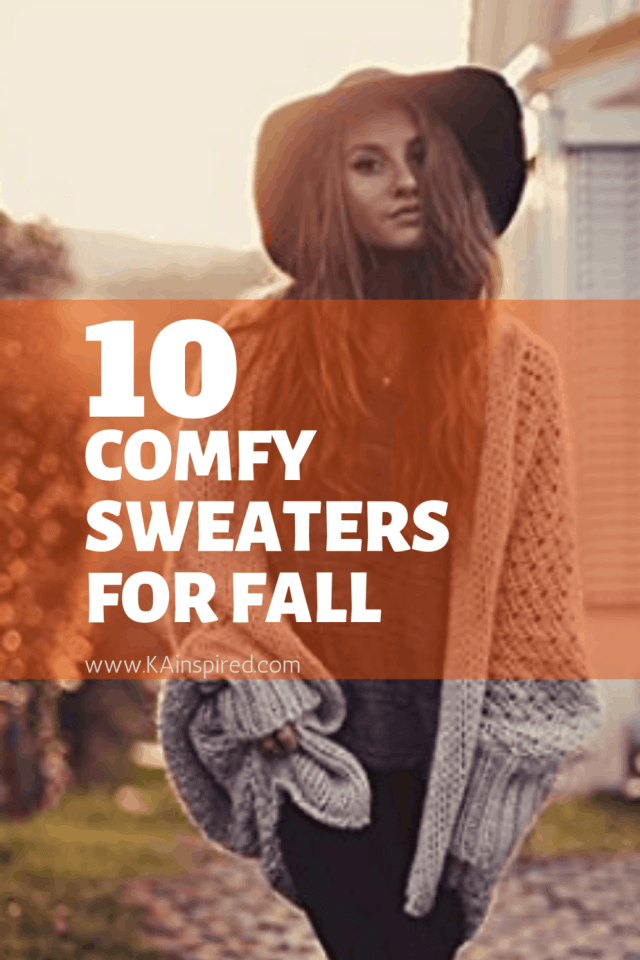 10 comfy sweaters for fall - fall swearers