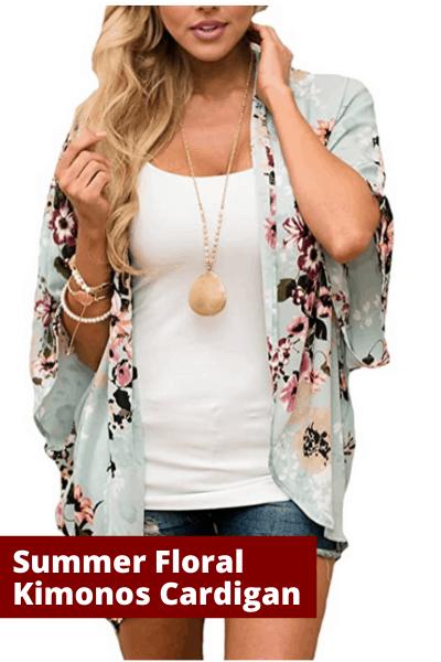 Summer floral Kimonos Cardigan | summer fashion