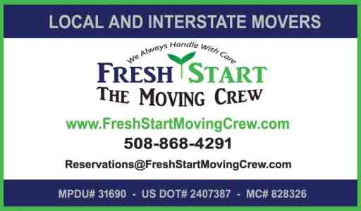 Local New England Movers:  Fresh Start - The Moving Crew