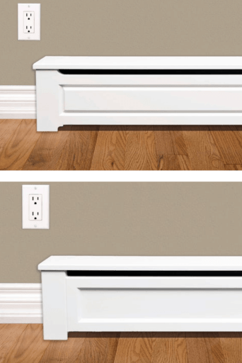 @ventandcover  - wood baseboard covers
