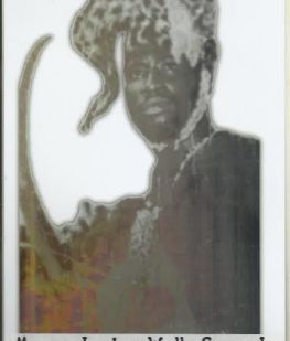 Portrait of Mama Jankey Wally Sanneh 44th Emperor Of Kabou