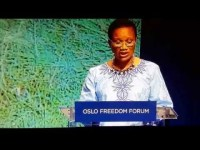Fatou Jaw Manneh's Speech At Oslo Freedom Forum