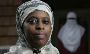 Lisa was jailed for refusing to take off hijab in court/AP image