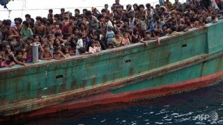 Stranded Rohingya migrants are baffled by Jammeh's so-called generousity