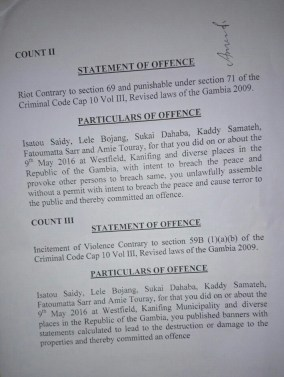 Charge Sheet 2