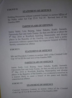 Charge Sheet 3