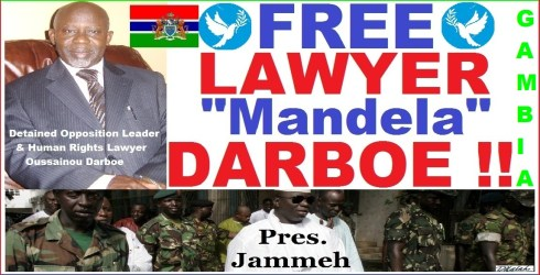 FREE LAWYER DARBOE Campaign Poster
