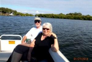 Judith & Jerry Ken's boat1