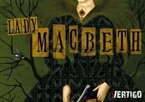 Lady Macbeth. Käsiohjelman graafinen suunnittelu. Teatteri Vertigo, 2013.