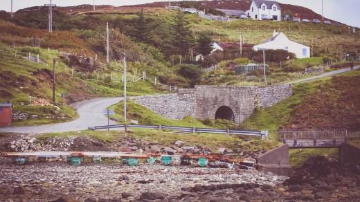 Eine typische Landschaftsaufnahme von der Isle of Skye