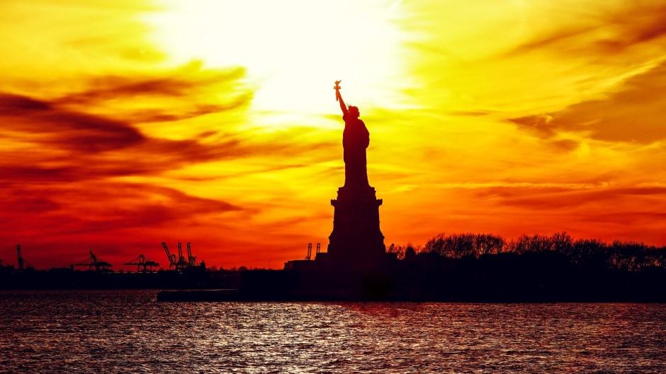 Freiheitsstatue in NY 2020
