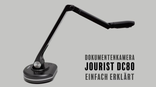 Titelbild Jourist DC80 Dokumentenkamera