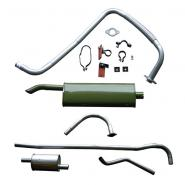 willys jeep exhaust systems