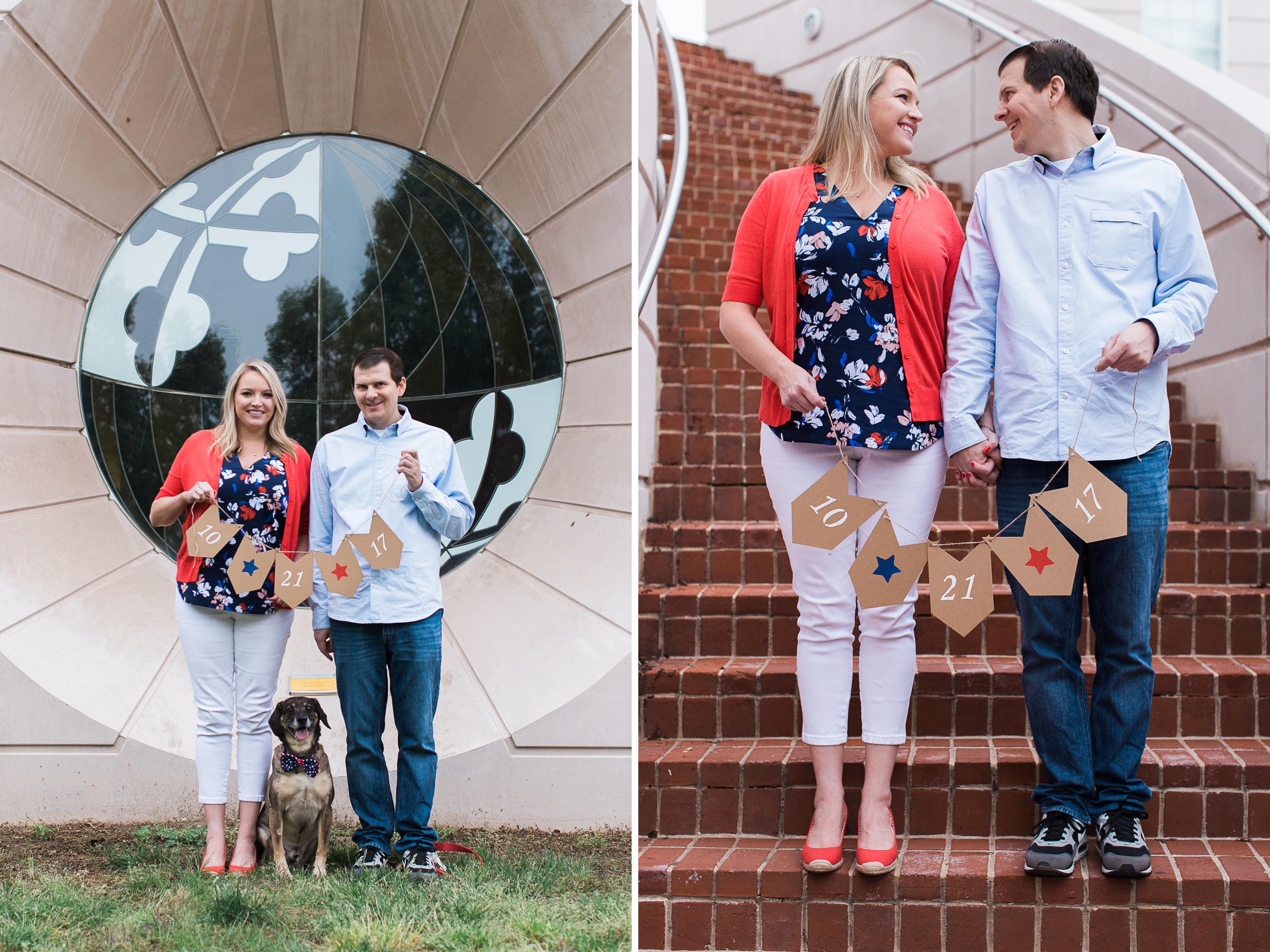 University of Maryland Engagement Session Maryland Photographer