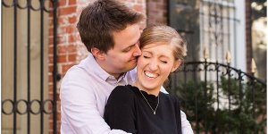 Katie + Alex | Georgetown University Engagement Session