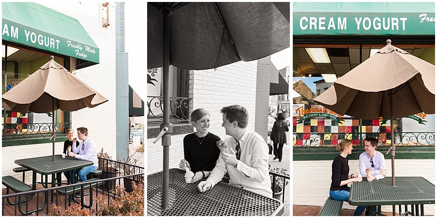 Kait Bailey Photo Georgetown Engagement Session Baltimore DC Wedding Photographer