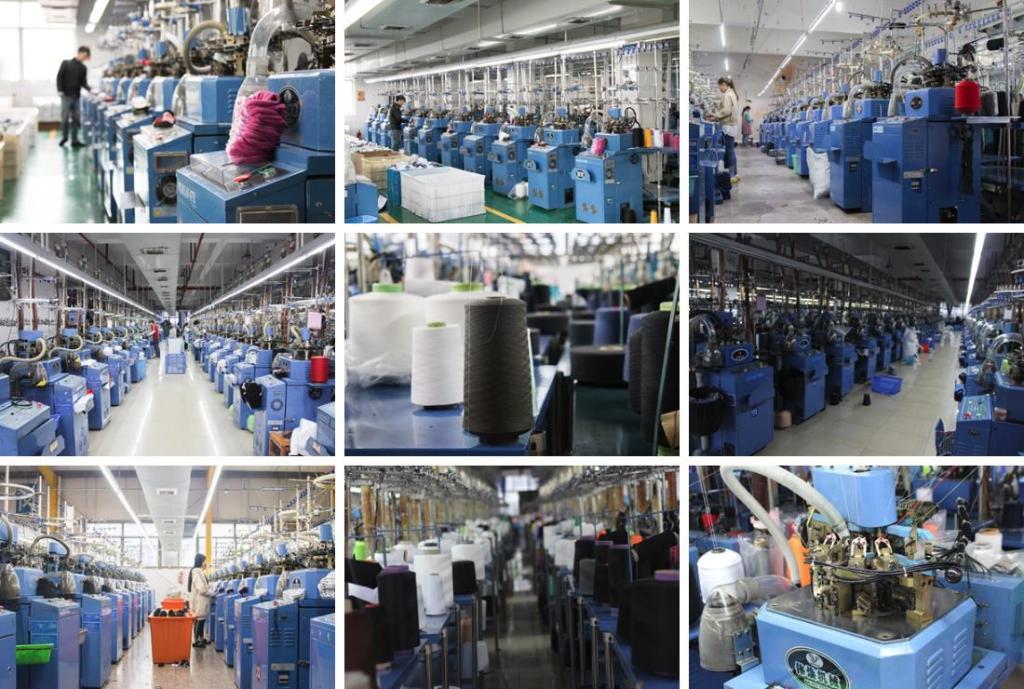 socks factory workshop photos