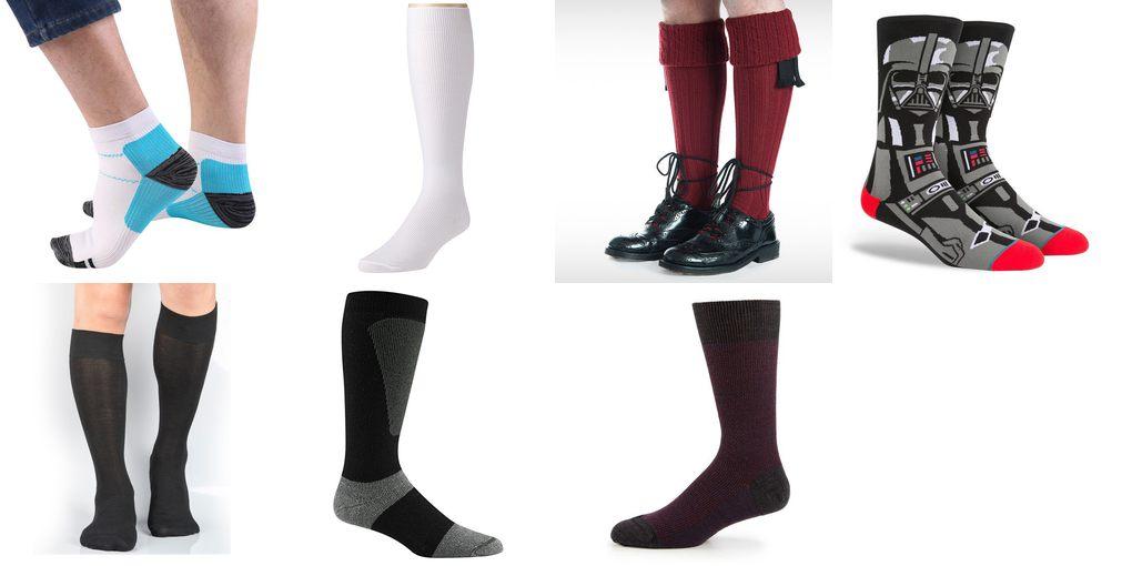 nylon socks for men