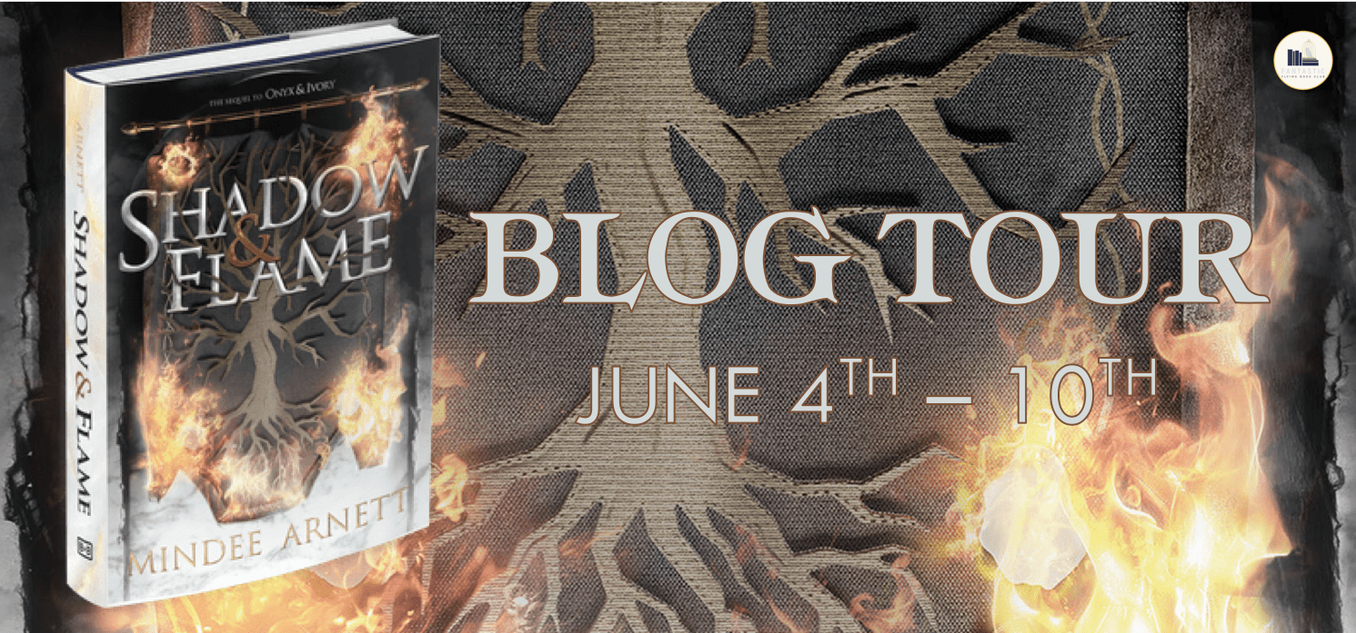 Blog Tour: Shadow and Flame by Mindee Arnett (Interview + Giveaway!)