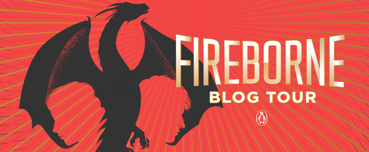 Blog Tour: Fireborne by Rosaria Munda (Creative Post + Giveaway!!!)