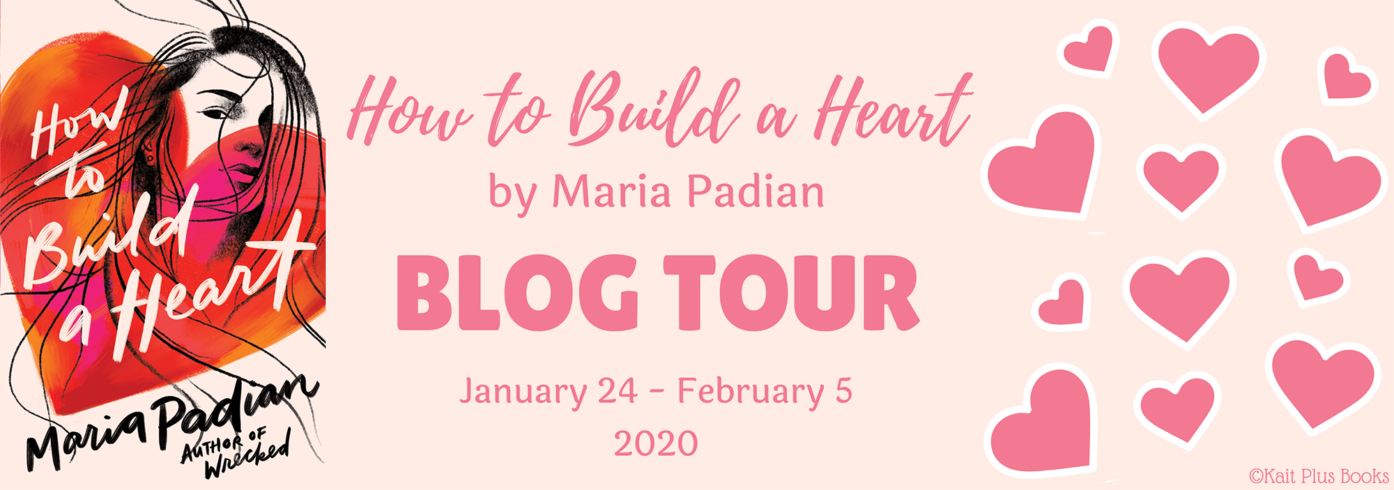 Blog Tour: How to Build a Heart by Maria Padian (Review!)
