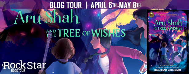 Blog Tour: Aru Shah and the Tree of Wishes by Roshani Chokshi (Excerpt + Giveaway!)