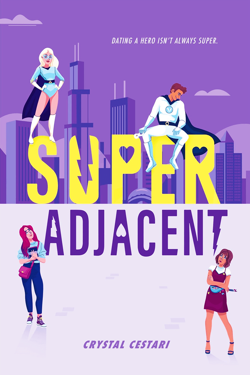 Blog Tour: Super Adjacent by Crystal Cestari (Interview + Giveaway!)