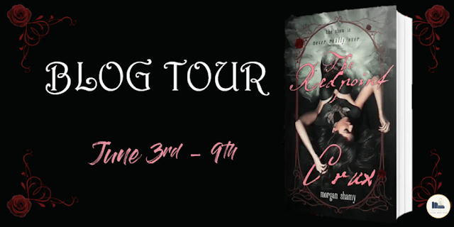 Blog Tour: The Redpoint Crux by Morgan Shamy (Interview + Giveaway!)