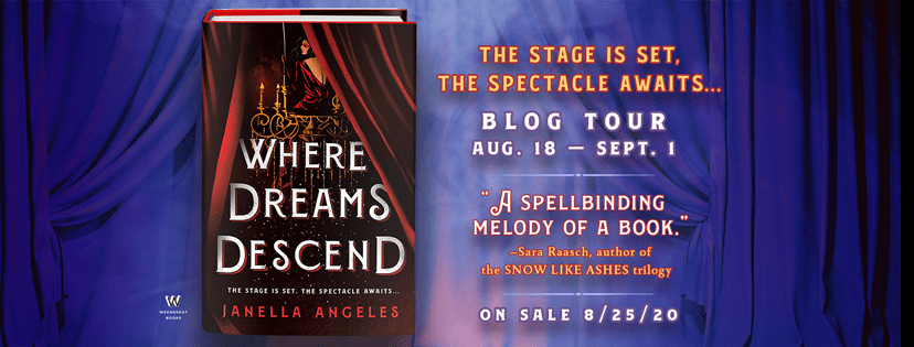 Blog Tour: Where Dreams Descend by Janella Angeles (Excerpt + Bookstagram!)