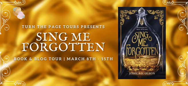 Blog Tour: Sing Me Forgotten by Jessica S. Olson (Interview + Bookstagram!)