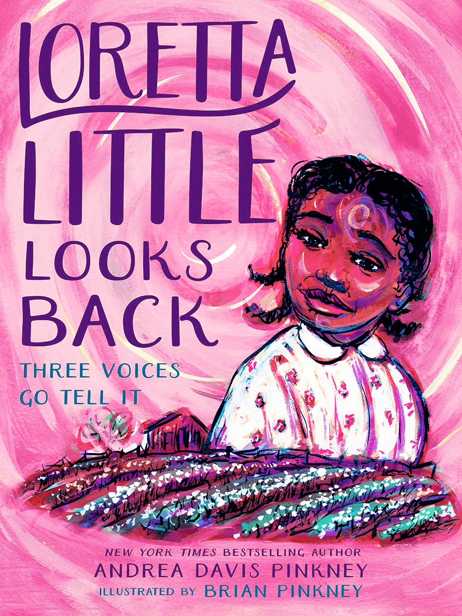 Blog Tour: Loretta Little Looks Back by Andrea Davis Pinkney (Bookstagram + Giveaway!)