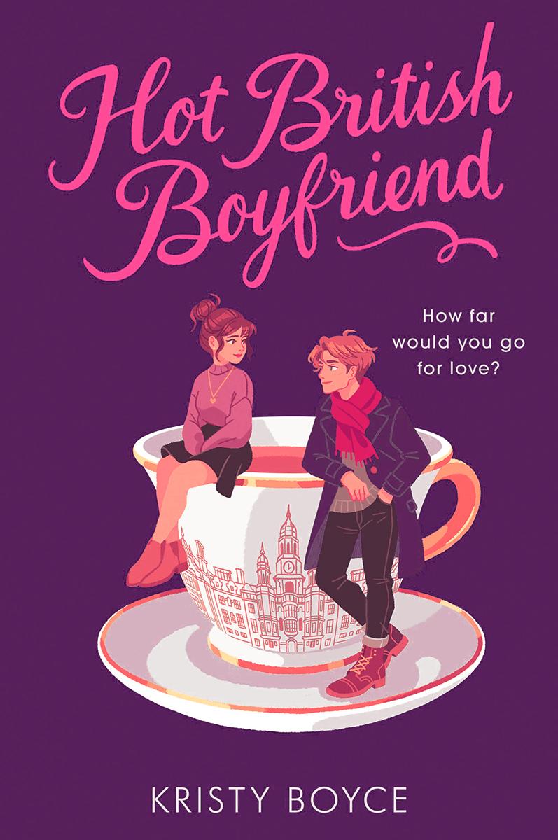 Blog Tour: Hot British Boyfriend by Kristy Boyce (Interview + Aesthetic Board + Giveaway!)
