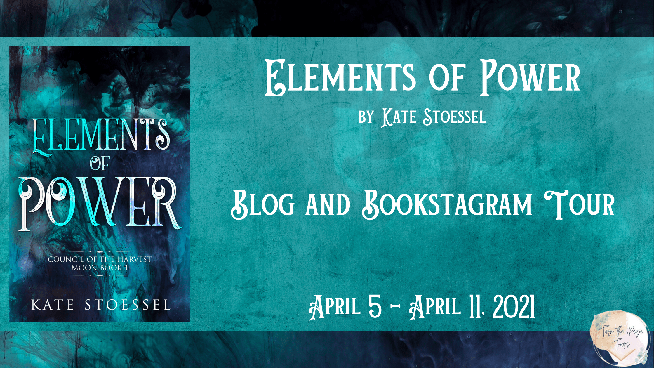 Blog Tour: Elements of Power by Kate Stoessel (Playlist + Giveaway!)