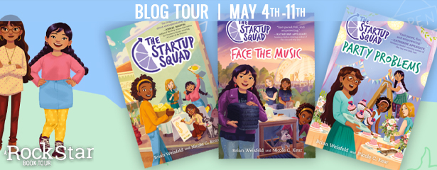 Blog Tour: The Startup Squad by Brian Weisfeld and Nicole C. Kear (Guest Post+ Giveaway!)