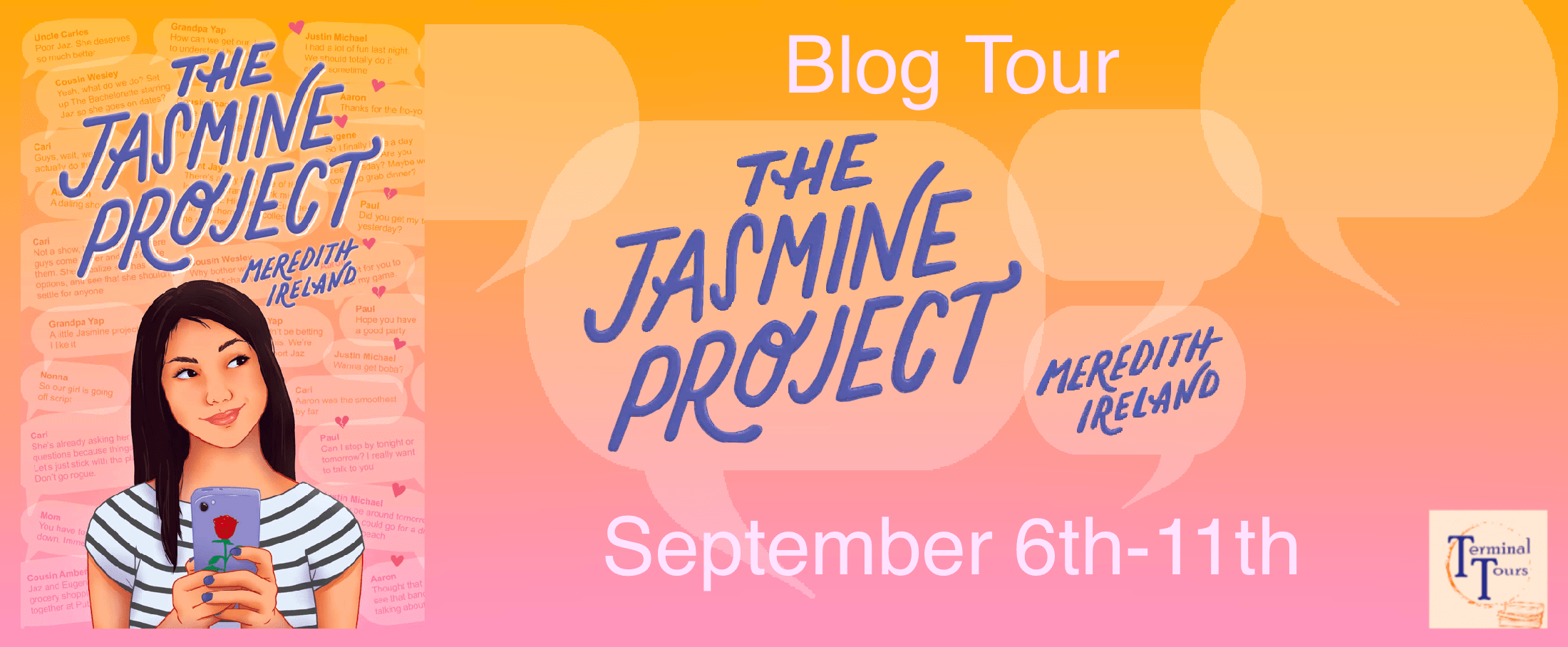 Blog Tour: The Jasmine Project by Meredith Ireland (Aesthetic Board!)