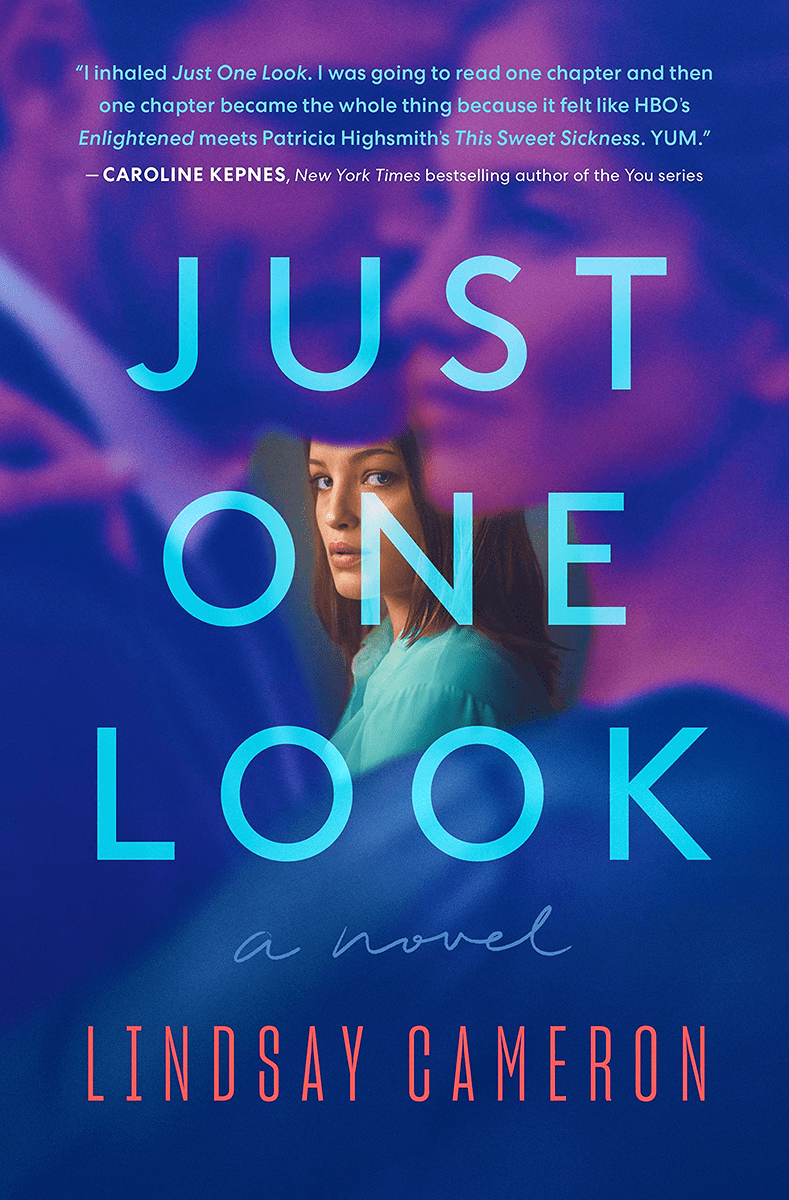 Blog Tour: Just One Look by Lindsay Cameron (Interview + Giveaway!)