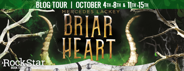 Blog Tour: Briarheart by Mercedes Lackey (Guest Post + Giveaway!)