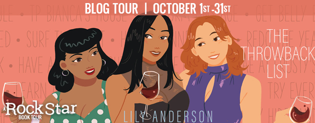 Blog Tour: The Throwback List by Lily Anderson (Review + Excerpt + Giveaway!)